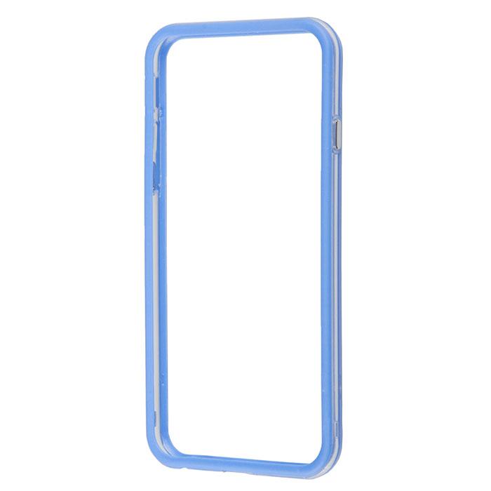 Liberty Project Bumpers чехол-накладка для iPhone 6, Clear BlueR0005475Чехол-накладка Liberty Project Bumpers для iPhone 6 защитит ваш гаджет от механических повреждений. Чехол имеет свободный доступ ко всем разъемам и клавишам устройства.