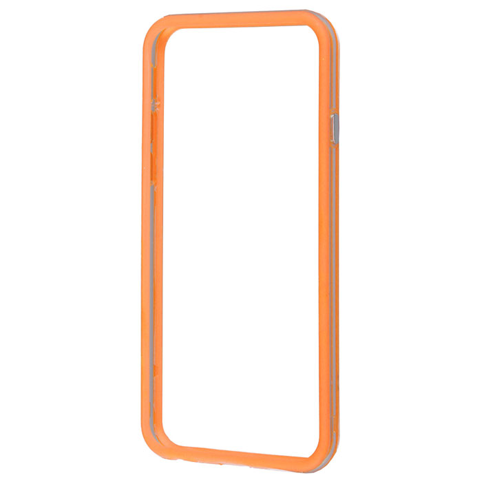 Liberty Project Bumpers чехол-накладка для iPhone 6, Clear Orange