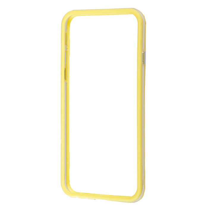 Liberty Project Bumpers чехол-накладка для iPhone 6, Clear Yellow