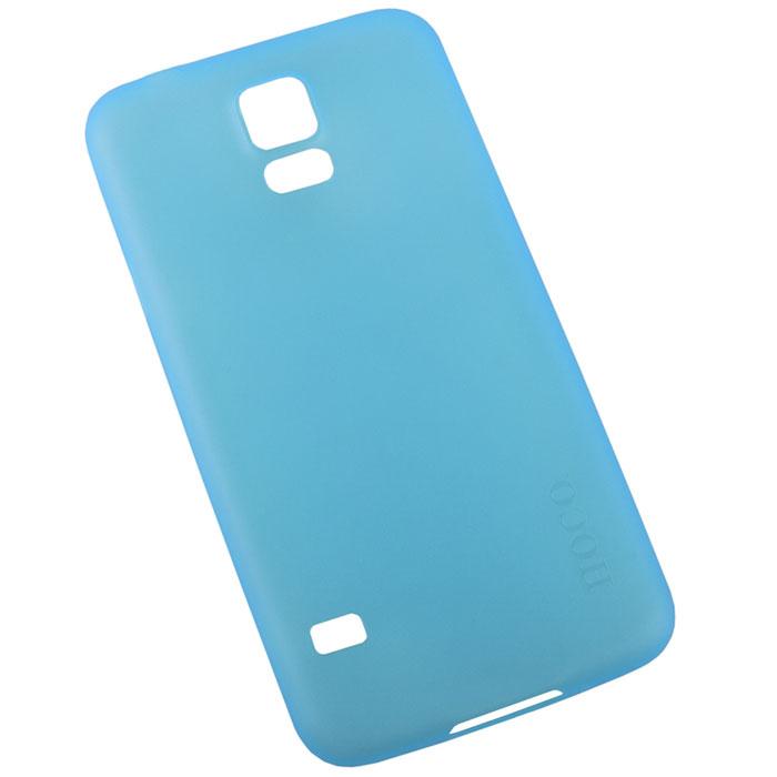 Hoco Thin Series защитная крышка для Samsung Galaxy S5, Light BlueR0004850Задняя крышка Hoco Thin Series для Samsung Galaxy S5 гарантирует надежную защиту корпуса вашего смартфона от внешнего воздействия (пыль, влага, царапины). Чехол изготовлен из качественного пластика и имеет отверстия для камеры, разъемов и кнопок.