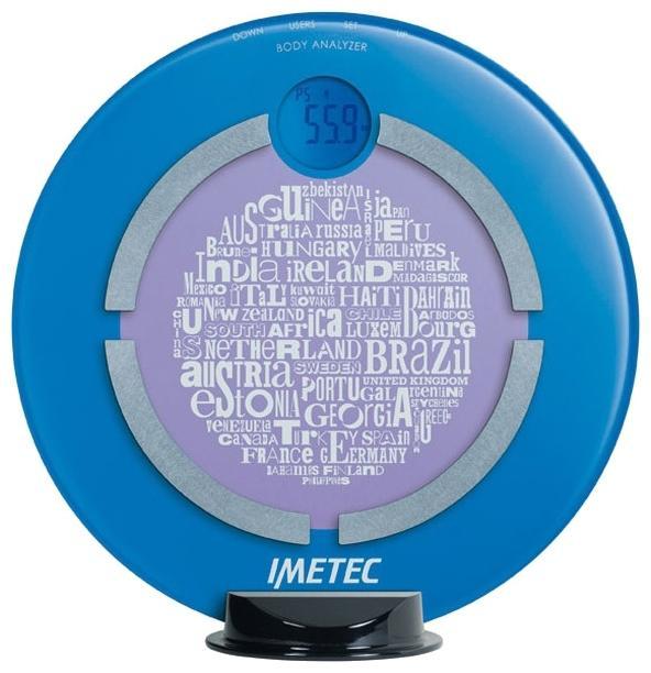 Imetec BF2 200 (5673) весы напольные5673С помощью диагностических электронных весов Imetec 5673 очень удобно производить измерения изменения массы тела. Встроенный анализатор позволяет измерять воду в организме, мышечную массу, соотношение жира и костей. Особенно данная модель весов подходит для тех, кто следит за соблюдением диеты и занимается спортом.