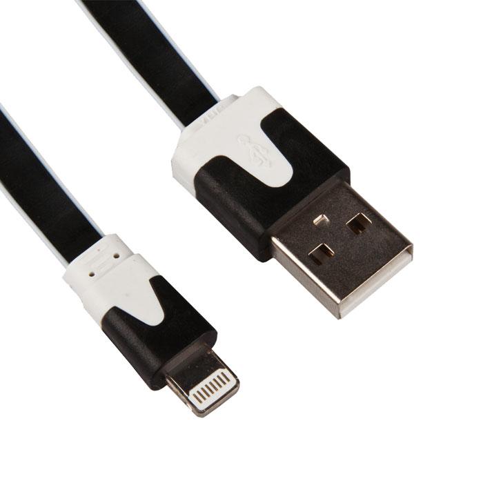 Liberty Project дата-кабель Apple Lightning плоский узкий, BlackR0003826Кабель Liberty Project Apple Lightning предназначен для передачи данных с вашего устройства на персональный компьютер, а также зарядки от источников питания с USB выходом.