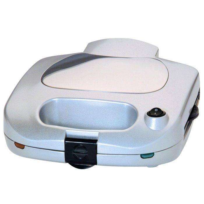 Steba SG 35 сэндвичница 3 в 1SG 35Небольшой по размеру и весу прибор Steba SG 35 имеет множество замечательных функций. С его помощью вы приготовите разнообразные хрустящие бутерброды и сэндвичи, вафли, поджарите на гриле различные продукты. Антипригарное покрытие позволяет избежать приставания и облегчает уход за изделием.