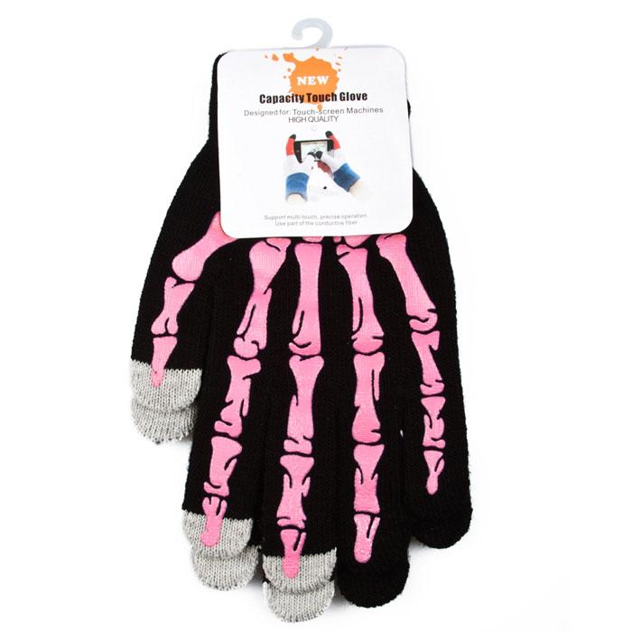 Liberty Project Кащеюшка, Black Pink перчатки для сенсорных экранов (размер M)R0001007Перчатки Liberty Project Кащеюшка предназначены для удобства использования цифровых устройств с сенсорными экранами в сезон холодов и для работы при низких температурах. Указательный, средний и большой пальцы имеют на подушечках перчаток проводящие сенсорные нити, что позволяет пользоваться мобильным устройством, не снимая перчаток.