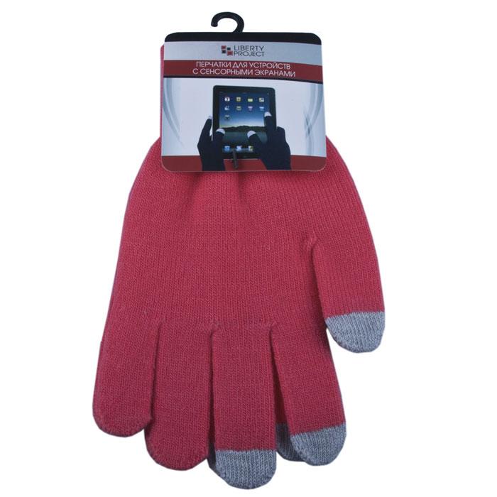 Liberty Project, Coral перчатки для сенсорных экранов (размер S)CD125830Перчатки Liberty Project предназначены для удобства использования цифровых устройств с сенсорными экранами в сезон холодов и для работы при низких температурах. Управление девайсами осуществляется с помощью трех пальцев на каждой перчатке.