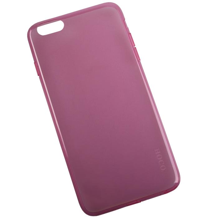 Hoco Light Series UltraSlim защитная крышка для iPhone 6 Plus, RedR0007597Задняя крышка (кейс) Hoco Light Series UltraSlim для iPhone 6 Plus гарантирует надежную защиту корпуса вашего смартфона от внешнего воздействия (пыль, влага, царапины). Чехол изготовлен из качественного пластика и имеет отверстия для камеры и разъемов.