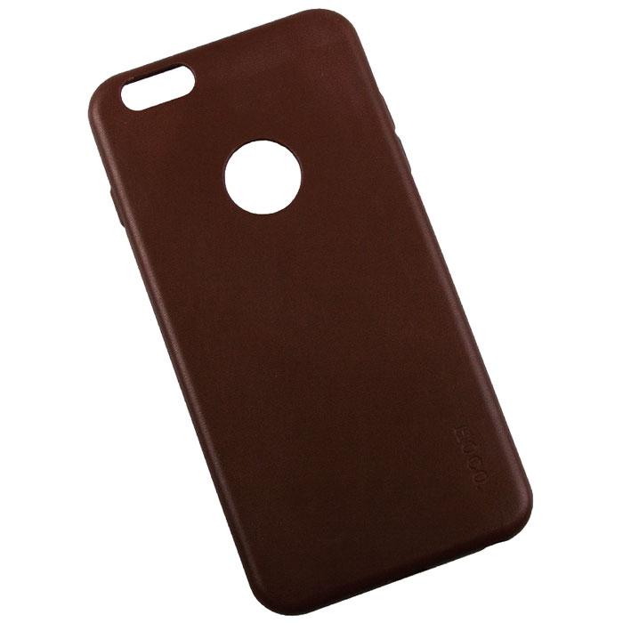 Hoco Paris Series защитная крышка для iPhone 6 Plus, BrownR0007615Задняя крышка (кейс) Hoco Paris Series для iPhone 6 Plus гарантирует надежную защиту корпуса вашего смартфона от внешнего воздействия (пыль, влага, царапины). Чехол изготовлен из качественных материалов и имеет отверстия для камеры и разъемов.