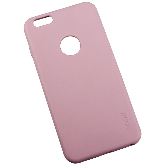 Hoco Paris Series защитная крышка для iPhone 6 Plus, Pink чехлы для телефонов hoco чехол силиконовый apple iphone 5 5s hoco thin frosted white