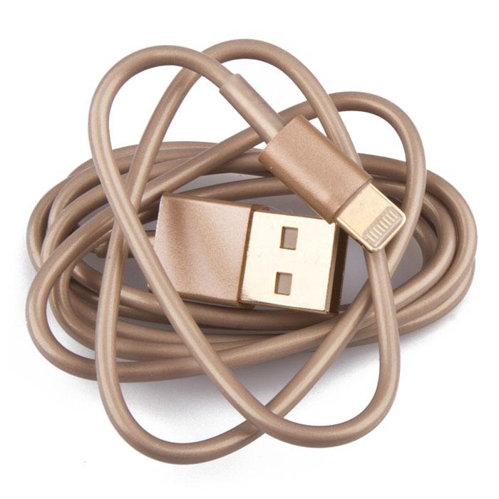 Liberty Project USB Lightning Cable кабель для iPhone 5s, GoldR0001024Кабель Liberty Project USB Lightning Cable предназначен для передачи данных с вашего устройства на персональный компьютер, а также зарядки от источников питания с USB выходом.