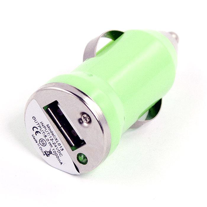 Liberty Project автомобильное ЗУ 1 А, GreenR0003909Автомобильное зарядное устройство Liberty Project для смартфонов, планшетных ПК и совместимых устройств.