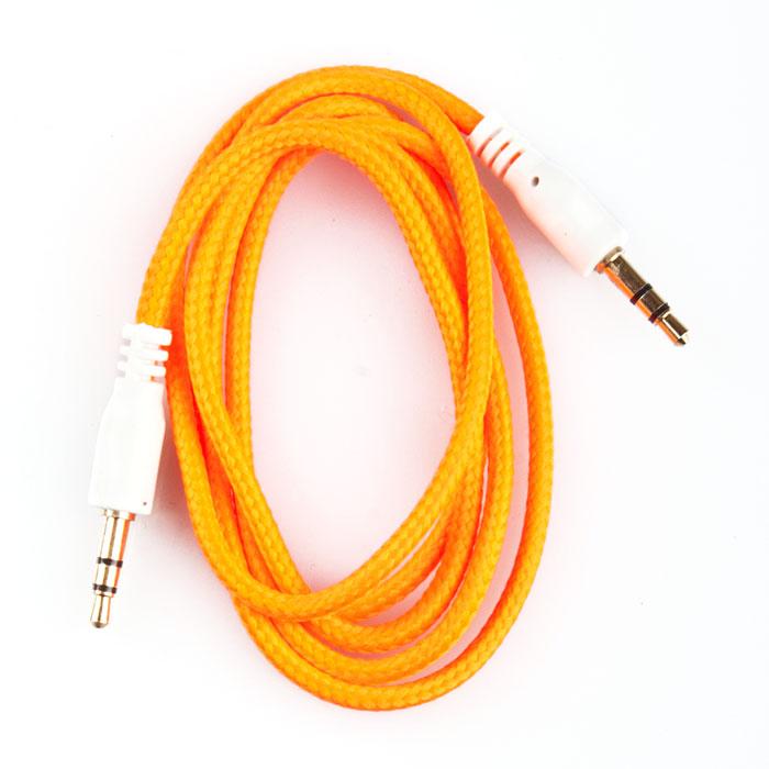 Liberty Project аудиокабель в оплетке, Orange (1 м)