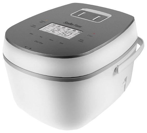 Stadler Form Chef One SFC.919, White мультиваркаSFC.919 whiteChef One от Stadler Form – это готовое решение для тех, кто желает разнообразить меню своей семьи изысканными блюдами и сэкономить при этом массу времени. Название этого прибора говорит само за себя: в мультиварке Вы сможете приготовить практически любое блюдо. Первые и вторые блюда, гарниры, десерты, выпечка и даже напитки – мультиварка Chef One способна на многое.