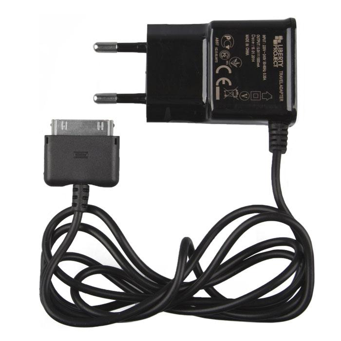 Liberty Project зарядное устройство 1 А для Apple 30 pinR0001411Устройство Liberty Project предназначено для зарядки смартфонов, планшетов и совместимых устройств с разъемом Apple 30 pin.
