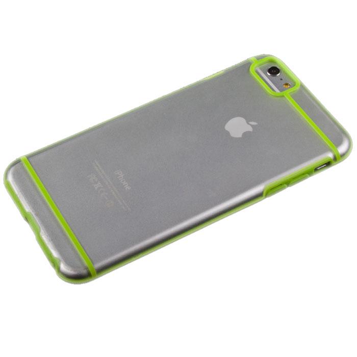 Liberty Project защитная крышка для iPhone 6 Plus, Green Striped ClearR0006704Защитная крышка Liberty Project для iPhone 6 Plus защитит ваш гаджет от механических повреждений. Чехол имеет свободный доступ ко всем разъемам и клавишам устройства.