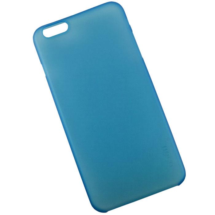 Hoco Thin Series PP защитная крышка для iPhone 6 Plus, BlueR0007601Задняя крышка Hoco Thin Series для iPhone 6 Plus гарантирует надежную защиту корпуса вашего смартфона от внешнего воздействия (пыль, влага, царапины). Чехол изготовлен из качественного пластика и имеет отверстия для камеры, разъемов и кнопок.