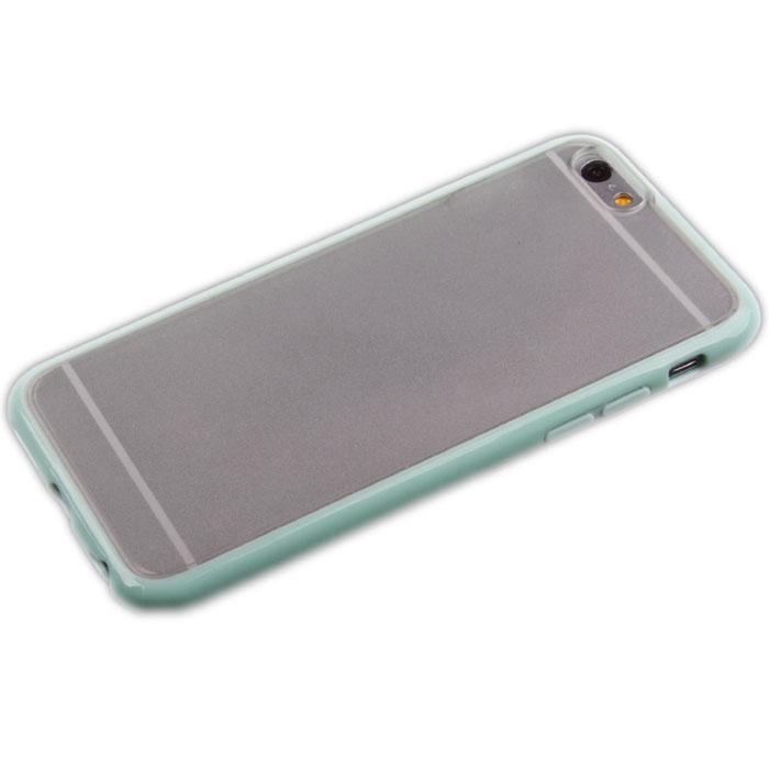 Liberty Project защитная крышка для iPhone 6, Light BlueR0006687Защитная крышка Liberty Project для iPhone 6 защитит ваш гаджет от механических повреждений. Чехол имеет свободный доступ ко всем разъемам и клавишам устройства.