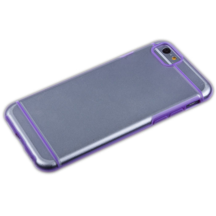 Liberty Project защитная крышка для iPhone 6, Lilac StripedR0006700Защитная крышка Liberty Project для iPhone 6 защитит ваш гаджет от механических повреждений. Чехол имеет свободный доступ ко всем разъемам и клавишам устройства.
