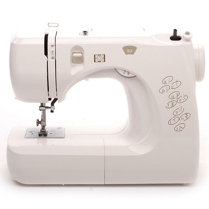 Comfort 12 швейная машина12Швейная машина Comfort 12 - это современная бытовая настольная электромеханическая швейная машина, оснащенная несмазываемым горизонтальным челночным устройством ротационного типа. Такой тип челночного устройства позволяет очень быстро вставлять шпульку с намотанной на нее нитью в челнок. Швейная машина предназначена для выполнения 8 простых швейных операций, обеспечивающих владельца всеми возможностями для ремонта одежды и пошива несложных швейных изделий, не требующих специальных опций, доступных машинам более высокого класса или специальным швейным машинам. Машина модели Comfort 12 оснащена ножным приводом, позволяющим регулировать скорость. Механизм швейной машины приводится в действие электродвигателем, вращающим маховик, что существенно повышает ее возможности и позволяет шить помимо легких и средних тканей, плотные ткани типа джинсовой. Съемная рукавная платформа поможет вам прострочить манжеты, рукава и штанины на брюках. Автоматический нитевдеватель не даст ошибиться при заправке нити в иглу, а также позволит сделать это очень быстро, не напрягая зрения. Силиконовая смазка швейной машины хороша тем, что значительно упрощает техническое обслуживание. Данная машина рассчитана на длительные режимы использования в течение нескольких месяцев подряд. Швейная машина Comfort 12Имеет систему автоматической заправки верхней нити в иголку;Производит обметывание петли в 4 приема в полуавтоматическом режиме;Имеет систему контроля балансировки петли;Оснащена системой регулирования натяжения верхней нити;0Имеет предустановленные настройки длины и ширины стежка, длины и ширины строчки;Имеет съемная рукавную платформу;Оснащена лампой освещения рабочего стола;Работу ускоряют быстросменные лапки;Автоматическая система позволяет осуществлять быструю намотку нити на шпульку;Машина имеет возможность шить двойной иглой;У машины имеется функция реверса;У машины имеется ручной нитеобрезатель.