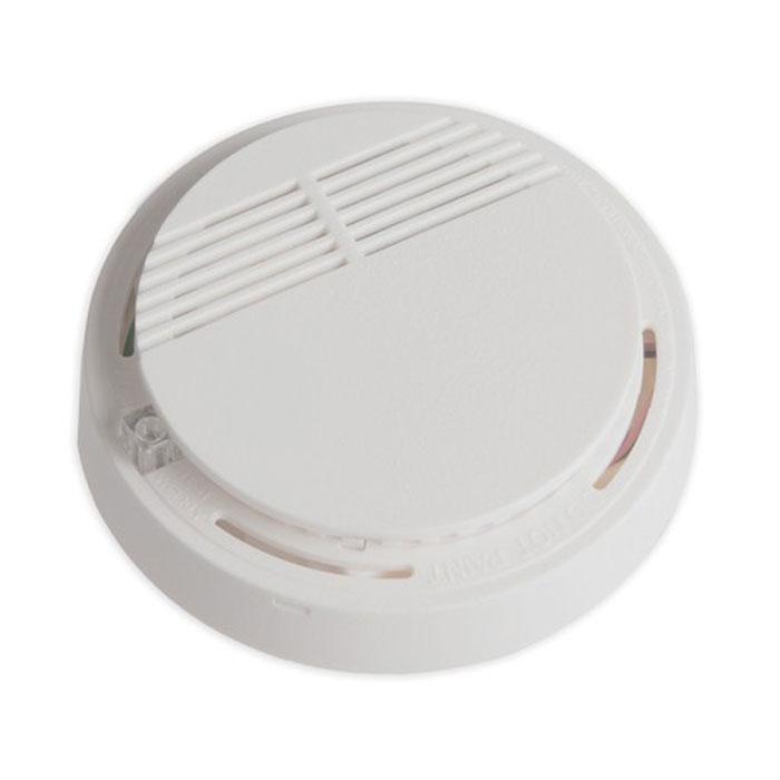 Sapsan SM-01 беспроводной пожарный датчик для GSM ProSM-01Пожарный датчик Sapsan SM-01 используется для монтажа в закрытых помещениях. Устройство способно реагировать на дым, который появляется в случае возгорания. В процессе монтажа необходимо обратить внимание место его размещения. Во-первых, в зону действия не должны попадать домашние животные, во-вторых, рядом не могут располагаться различные отопительные приборы и системы кондиционирования. Необходимо учитывать попадание на прибор прямых солнечных лучей, которые также могут стать причиной ложного срабатывания. Охранная сигнализация в сочетании с таким датчиком, способна существенно повышать эффективность всей системы.Напряжение питания: 9 VDC (элемент питания тип Крона) Ток потребления в режиме покоя: до 10 мАТок потребления в режиме передачи: до 30 мАКонтролируемая площадь: до 10 кв. мВысота установки: 1,7 - 2,5 мДымовая чувствительность соответствует UL Standаrt 1217