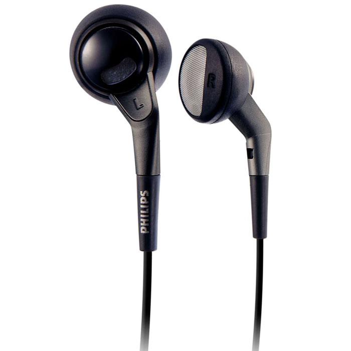 Philips SHE2550/10 наушникиSHE2550/10Наушники Philips SHE2550 с двойными отверстиями обладают более сбалансированным и натуралистичным звучанием. Вы получите больше наслаждения при прослушивании музыки на ходу.Неодимовый магнит усиливает звучание басов и чувствительность. Неодим является наилучшим материалом для создания сильного магнитного поля в целях улучшения чувствительности в звуковой катушке, улучшения НЧ характеристики и повышения общего качества звучания.Достаточно небольшой для оптимальной подгонки и в то же время достаточно большой для обеспечения чистого звучания без искажений, этот 15-мм электроакустический преобразователь динамика имеет идеальный размер для прослушивания. Наличие мягкой и гибкой части защищает соединение шнура от повреждения, которое в случае его отсутствия произойдет из-за частого сгибания.Специальным образом спроектированные двойные отверстия пропускают воздух для балансировки высоких и низких частот и более сглаженного звучания. Специальная форма и материалы высокого качества, используемые для амбушюр, гарантируют максимальный комфорт за счет их идеальной подгонки. Они предотвращают утечку звука и улучшают характеристики НЧ. Амбушюры имеют форму, точно соответствующую зоне вокруг уха.