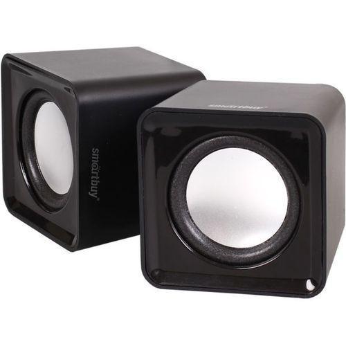 SmartBuy Mini SBA-2800, Black акустическая системаSBA-2800SmartBuy MINI SBA-2800 - это стильная акустическая стерео система, которая идеально дополнит ваш настольный компьютер или ноутбук. Оригинальный дизайн не единственное достоинство этой модели, она обладает достаточно мощным звуком для прослушивания музыки и просмотра фильмов. Для удобства пользователей на одной из колонок расположен регулятор громкости. Благодаря компактным размерам колонки не займут много места на рабочем столе. Акустика подключается к USB-порту ПК и не требует дополнительных источников питания.