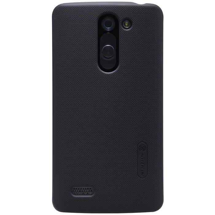 Nillkin Super Frosted Shield чехол для LG D335 (L Bello), Black2000000028965Накладка Nillkin Super Frosted Shield для LG D335 (L Bello) выполнена из высококачественного поликарбоната. Она защищает боковые стороны и заднюю крышку смартфона и надежно фиксирует телефон. Накладка также обеспечивает свободный доступ ко всем разъемам и клавишам устройства.