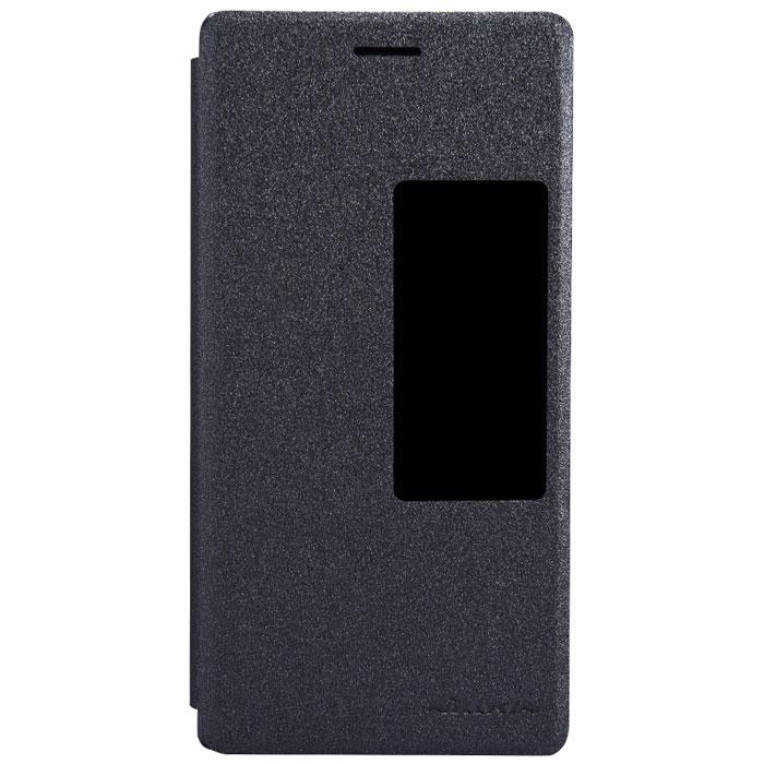 Nillkin Fresh Series Leather Case чехол для Huawei Ascend P7, Black2000000024837Чехол Nillkin Fresh Series Leather Case сделан из высококачественного поликарбоната и экокожи. Он надежно фиксирует и защищает смартфон при падении. Обеспечивает свободный доступ ко всем разъемам и элементам управления.