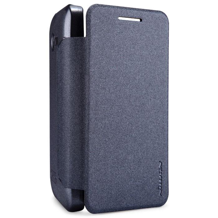Nillkin Sparkle Leather Case чехол для Asus ZenFone 4 (A400CG/1600 мАч), Black2000000019383Чехол Nillkin Sparkle Leather Case выполнен из высококачественного поликарбоната и экокожи. Он надежно фиксирует и защищает смартфон при падении. Обеспечивает свободный доступ ко всем разъемам и элементам управления.