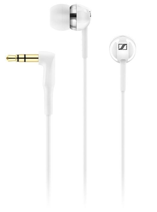 Sennheiser CX 1.00, White наушники506084Новые наушники Sennheiser CX 1.00 предлагают мощное звучание с глубокими НЧ. Миниатюрный размер гарантирует дополнительный комфорт. Эффективную защиту от шума обеспечивает набор из 4-х пар ушных адаптеров разного размера (XS, S, M, L). Готовы к использованию с любыми портативными устройствами воспроизведения.