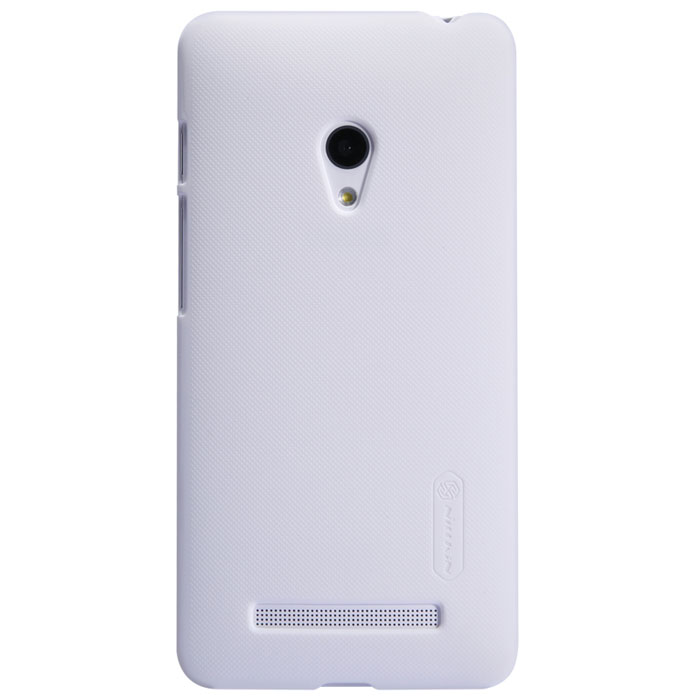 Nillkin Super Frosted Shield чехол для Asus ZenFone 5, White аксессуар чехол asus zenfone 3 ze552kl nillkin frosted shield red 12374