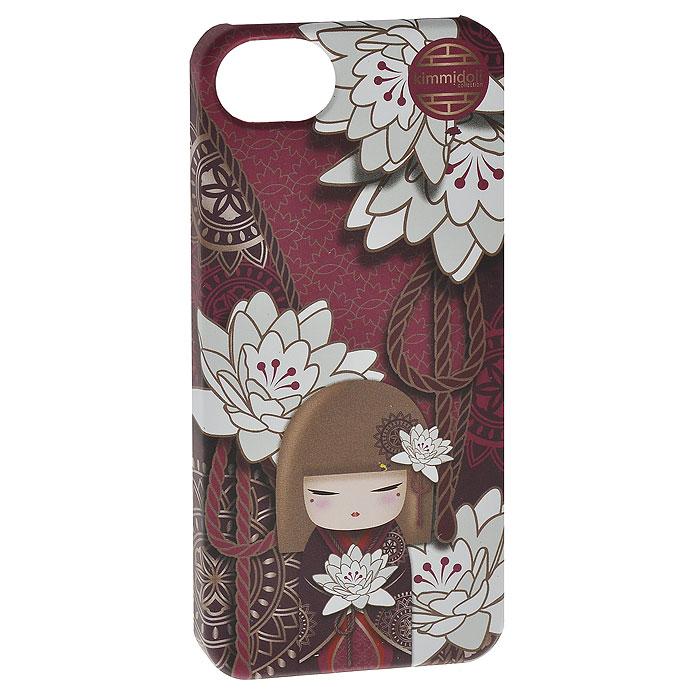 Чехол для iPhone 5 Kimmidoll Сатоко (Искренность). KF0761KF0761Съемный чехол для iPhone 5 выполнен из пластика и оформленный изображением очаровательной куколки Сатоко (Искренность) в японском традиционном стиле. Чехол легко снимается и легко одевается, а главное, радует глаз! Чехол легко защитит любимый телефон от пыли, грязи и царапин, а в случае падения предотвратит трещины и сколы. В чехле есть специальные прорези (для окошка камеры, разъема для наушников и зарядного шнура, для клавиш регулировки звука и кнопочки беззвучного режима). Привет, меня зовут Сатоко! Я талисман искренности. Мой дух непритворный и искренний. Всегда оставаясь верным своим чувствам и честным в своих поступках, вы отражаете свое Я. Желаю вам всегда жить непритворной и полной жизнью, раскрывая мой искренний дух.