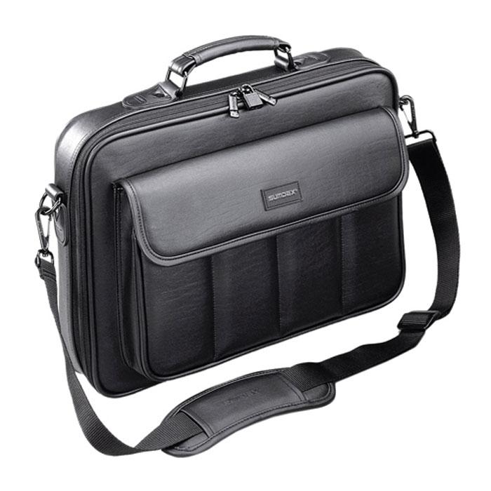 Sumdex CKN-002 сумка для ноутбука 15,6CKN-002Сумка Sumdex CKN-002 предназначена для ноутбуков с диагональю экрана до 15.6. Основное отделение закрывается на застежку-молнию. Имеет отделения и карманы для бумаг и аксессуаров и сквозной задний карман для легкой фиксации сумки на телескопической ручке багажной тележки.