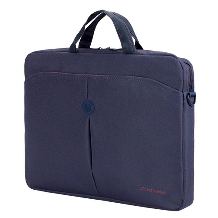 """Continent CC-01, Blue сумка для ноутбука 15,6"""""""