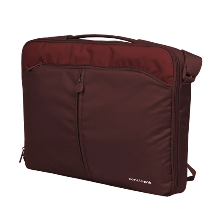 Continent CC-02, Cranberry сумка для ноутбука 15,6CC-02 CranberryContinent CC-02 - сумка для ноутбука с твердым каркасом и множеством дополнительных отделений, выполнена одном стиле с сумкой CC-01. Цветные элементы серых оттенков.