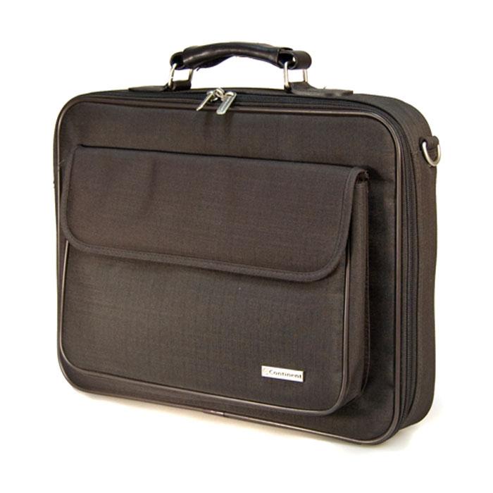 Continent CC-03, Brown сумка для ноутбука 15,6CC-03 BrownContinent CC-03 - строгая и удобная сумка для переноски и защиты ноутбука.Благодаря своим полноформатным размерам сумка просто незаменима для деловых людей - столько в ней отделений для бумаг и документов. А благодаря своей стильной элегантной форме и цветовым решениям - будет интересна молодым и энергичным людям. Если Вы возите ноутбук с собой на работу, в путешествия, или просто часто берете его с собой, то на своем опыте убедились, что сумка для ноутбука просто необходима.