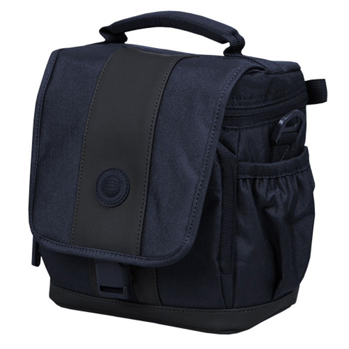 Continent FF-02, Blue сумка для фотокамерыFF-02 BlueContinent FF02 - стильная простая и функциональная сумка для фотоаппарата.