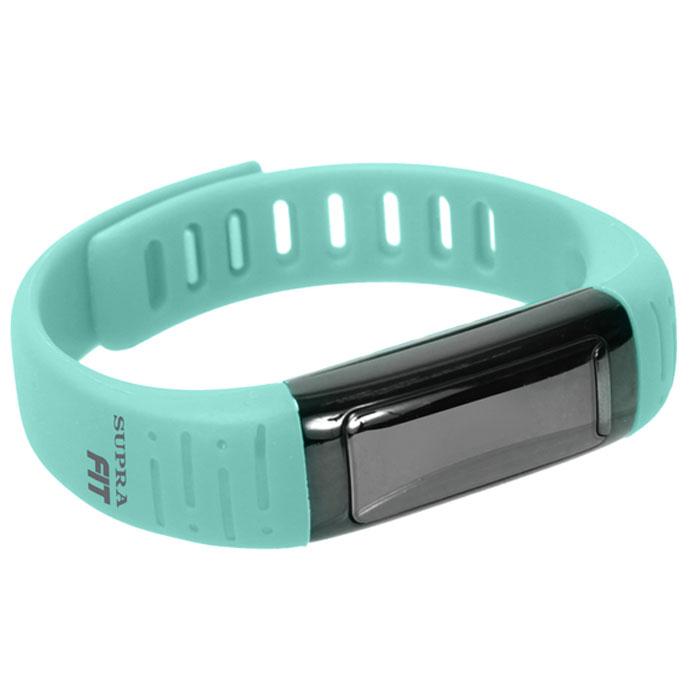 Supra PS-101, Azure фитнес-браслетPS-101 azureSupra PS-101 - шагомер, совместимый с устройствами на платформе Android.Считает шаги, расстояние и сожженные калорииРаботает как часы, будильник, секундомерОснащен функцией мониторинга снаФункция анти-вор - при удалении смартфона/планшета от фитнес- часов срабатывает сигналОтображает на дисплее звонкиУдаленное управление камерой3 дня автономной работы на одном заряде батареиСовместимость с устройствами Android, Bluetooth 4.0USB зарядкаOLED дисплей