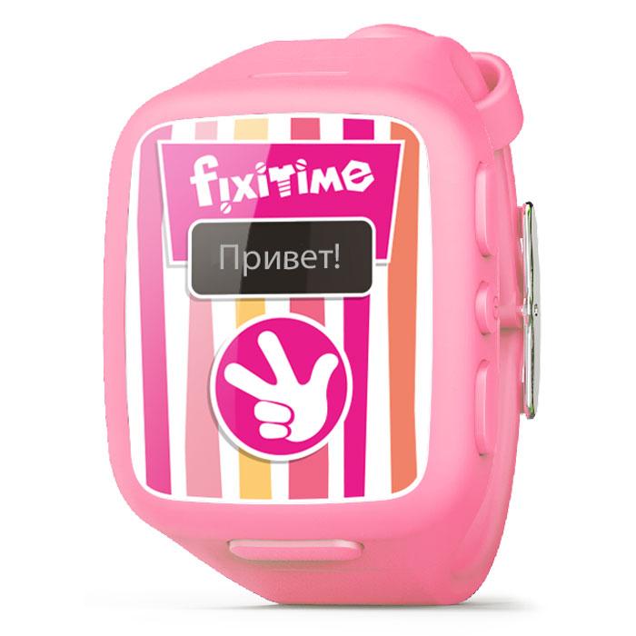 Fixitime FT-101, Pink часы-телефон