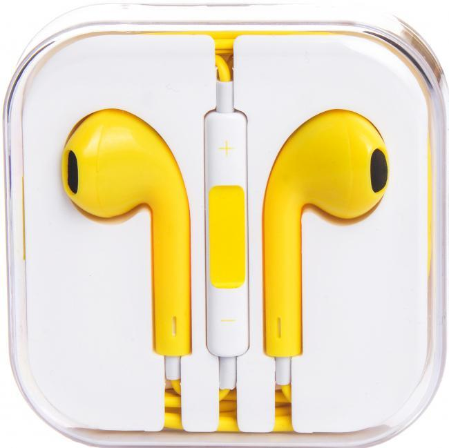 Liberty Project гарнитура для iPhone/iPod, YellowSM000951Liberty Project - миниатюрные наушники анатомической формы для Apple iPhone/iPod. Удобная «посадка» обеспечивает долгое, комфортное ношение. Качественные динамики передают чистый звук с выразительными низами и звонкими верхами. Встроенный микрофон позволяет общаться «без использования рук», а его высокая чувствительность делает вашу речь хорошо разборчивой на другом конце «провода». Liberty Project отлично подходят как для общения, так и для прослушивания музыки, радио, просмотра видеороликов и фильмов.