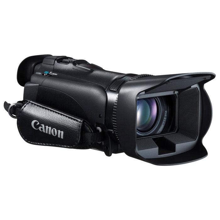 Canon LEGRIA HF G25 цифровая видеокамера8063B004Видеокамера LEGRIA HF G25, созданная специально для энтузиастов видеосъемки, оснащена широкоугольным объективом, обеспечивает широкие возможности ручного управления и исключительное качество записи звука для превосходных фильмов в формате HD.Широкоугольный объектив 30,4 мм:Технологии высокой производительности, воплощенные в превосходном HD-видеообъективе Canon 30,4 мм, F1,8, сочетают в себе 10-кратный оптический зум и 8-лепестковую ирисовую диафрагму, обеспечивающую естественные эффекты дефокусирования.Датчик изображения HD CMOS Pro:Датчик изображения HD CMOS PRO обеспечивает прекрасное качество съемки в условиях низкой освещенности и широкий динамический диапазон. Датчик изображения, разработанный и произведенный компанией Canon для профессиональных видеокамер собирает на 20% больше света. Увеличена чувствительность в условиях низкой освещенности.Полное ручное управление:Кольцо ручной фокусировки позволяет контролировать фокус интуитивно понятным способом. Полное ручное управление экспозицией, диафрагмой, выдержкой и коэффициентом усиления осуществляется с помощью сенсорного ЖК-дисплея. Пользовательская клавиша и диск ручного управления позволяют полностью контролировать творческий процесс.Интеллектуальный оптический стабилизатор изображения:Интеллектуальный стабилизатор изображения является идеальным решением, которое предотвращает размытость изображения из-за сотрясения камеры при съемке. Он автоматически определяет тип снимаемой сцены и выбирает один из 4 режимов стабилизации для оптимальной компенсации дрожания камеры для предотвращения размытости объекта. Интеллектуальный стабилизатор обеспечивает четкое, детализированное изображение в любой ситуации, позволяя сосредоточиться на съемке.Выбор аудиосцен:Легко добиться превосходного звука с помощью выбора аудиосцен и высокочувствительного встроенного зуммикрофона. Просто выберите один из пяти режимов сцены и настройки аудио будут автоматически оптимизированы для сн
