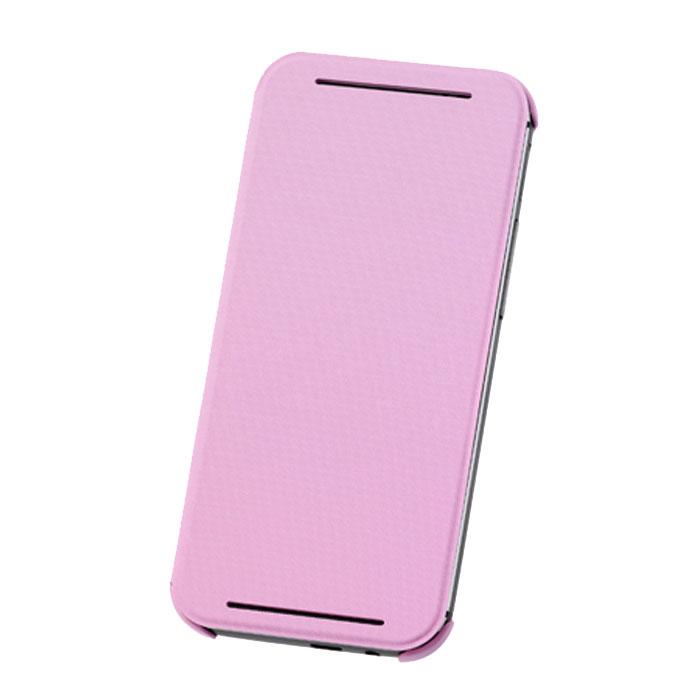HTC HC V980 чехол для One E8, PinkHC V980_pinkЖесткий чехол HTC HC V980 для смартфона One E8 Dual Sim.Чехол изготовлен из пластика с отгибающейся крышкой, с магнитом для автовключения экрана.