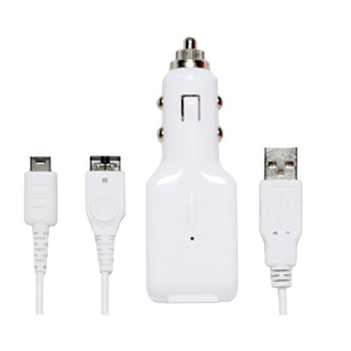 In-Car USB ChargeCable, зарядный кабель для Nintendo DS LightR0003915Комплект для зарядки игровой приставки Nintendo DS Lite от автомобильного прикуривателя или разъема USB компьютера.В комплект идет кабель с выходными коннекторами для Nintendo DS Light.