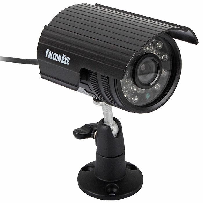 Falcon Eye FE I80C/15M уличная камера видеонаблюденияFE I80C/15M F(3.6)Камера высокого разрешения Falcon Eye FE I80C/15M для использования как внутри помещений так и с наружи. Камера оснащена наиболее востребованным объективом f=3,6 c углом обзора 75 градусов. Наличие ИК подсветки позволяет использовать камеру и при отсутствии внешнего освещения.Отношение сигнал/шум: 48 дБТип развёртки: 2:1 чересстрочная