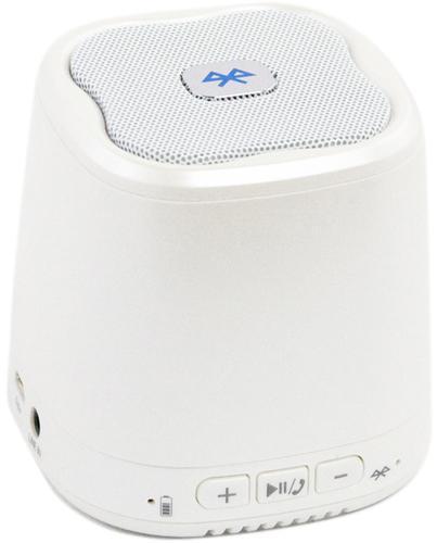 Liberty Project Dogo DG620, White беспроводная колонкаSM000606Liberty Project DOGO DG620 - это компактная портативная акустическая система, совместимая с большинством аудио устройств. Небольшие размеры и встроенный аккумулятор дают возможность использовать колонки в мобильном режиме, в любом месте, где нет электричества. Скромные с виду динамики обеспечивают вполне серьезную громкость и с легкостью озвучивают небольшое помещение или место пикника, отдыха. Для подключения можно использовать стандартный аудиоразъем 3.5 мм. Liberty Project DOGO DG620 - прекрасное решение для всех, кто хочет слушать любимую музыку в компании и не зависеть от розетки.