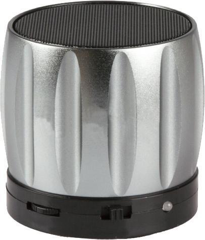 Liberty Project S13, Silver беспроводная колонкаR0004236S13 - это портативная акустическая система, совместимая с большинством аудио устройств. Небольшие размеры и встроенный аккумулятор дают возможность использовать колонки в мобильном режиме, в любом месте, где нет электричества. Скромные с виду динамики обеспечивают вполне серьезную громкость и с легкостью озвучивают небольшое помещение или место пикника, отдыха. Для подключения можно использовать стандартный аудиоразъем 3.5 мм или Bluetooth соединение. S13 - прекрасное решение для всех, кто хочет слушать любимую музыку в компании и не зависеть от розетки.