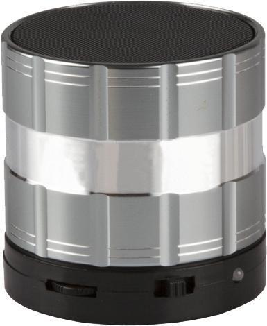 Liberty Project S26, Silver беспроводная колонкаR0004240S26 - это портативная акустическая система, совместимая с большинством аудио устройств. Небольшие размеры и встроенный аккумулятор дают возможность использовать колонки в мобильном режиме, в любом месте, где нет электричества. Скромные с виду динамики обеспечивают вполне серьезную громкость и с легкостью озвучивают небольшое помещение или место пикника, отдыха. Для подключения можно использовать стандартный аудиоразъем 3.5 мм или Bluetooth соединение. S26 - прекрасное решение для всех, кто хочет слушать любимую музыку в компании и не зависеть от розетки.