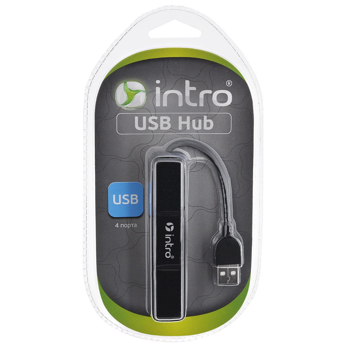 Intro Н510, Black USB-концентратор