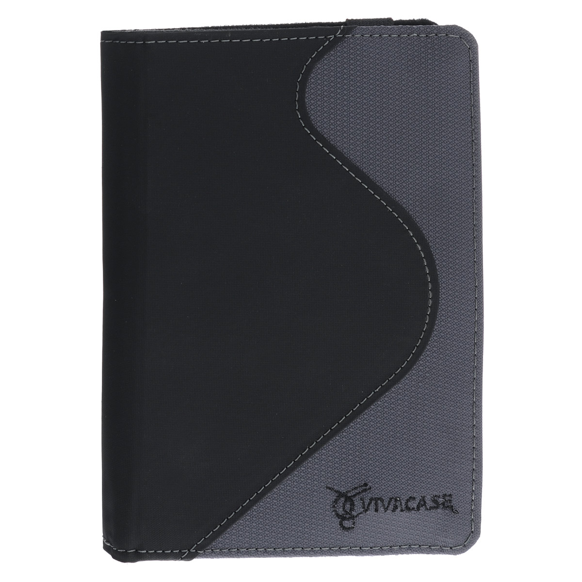 Vivacase S-style Lux обложка для PocketBook Touch 622, Black Grey