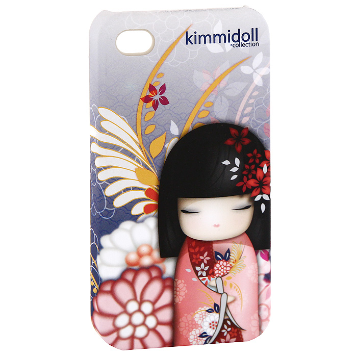 Чехол для iPhone 4/4s Kimmidoll Норика (Доброта и Красота), цвет: розовый, фиолетовый. KF0382 заглушки для телефона kimmidoll заглушка для телефона томона