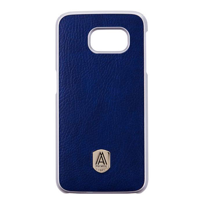 Anymode Fashion Case Prestige чехол для Samsung S6, BlueFA00003KNVСтильная накладка Anymode Fashion Case Prestige для Samsung S6 защитит ваше устройство от механических повреждений и падений. Имеет свободный доступ ко всем разъемам и кнопкам телефона.